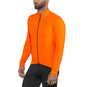 Alé Cycling Solid Color Block - Maillot manches longues Homme - orange